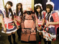 maid cafe japan japon tokyo akiba akihabara uniforme costume