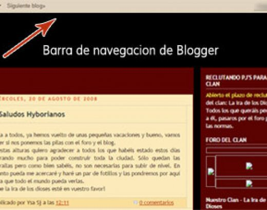 Tutorial: Borra la barra de navegación de blogger en 4 pasos