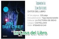 tormenta, dresden, dresden files, saga dresden, jim butcher, libro, book, reseña, videoreseña, review,