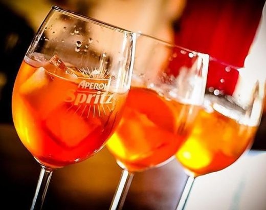 Venecia: Las famosas bebidas Bellini y Spritz