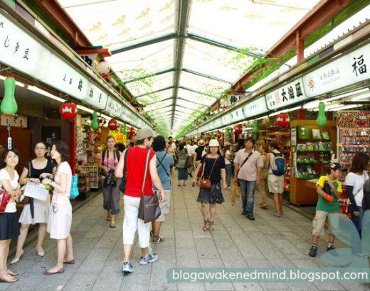 Mercado Nakamise – Tokyo