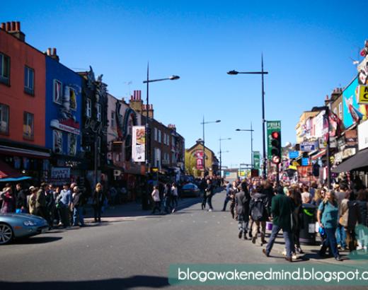 Londres: Mercado de Camden
