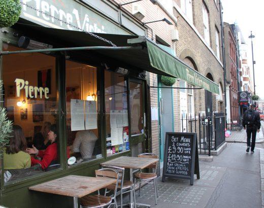 Londres: Restaurante rico y a buen precio – Pierre Victoire