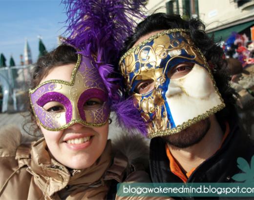 Venecia y sus máscaras… – post in progress –