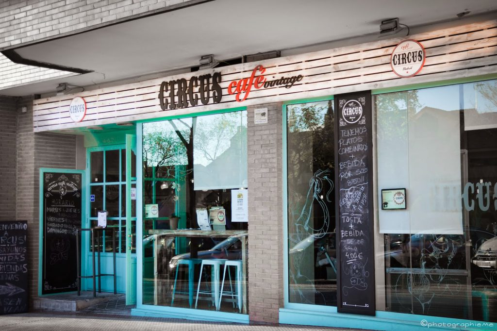 circus cafe, alcobendas, donde comer, madrid, donde cenar,cafeteria, restaurante,