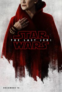 star wars, ultimos jedi, the last jedi, leia, poster, movie, pelicula,