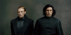 kylo, hux, star wars, los ultimos jedi, the last jedi, el lado oscuro, the dark side,