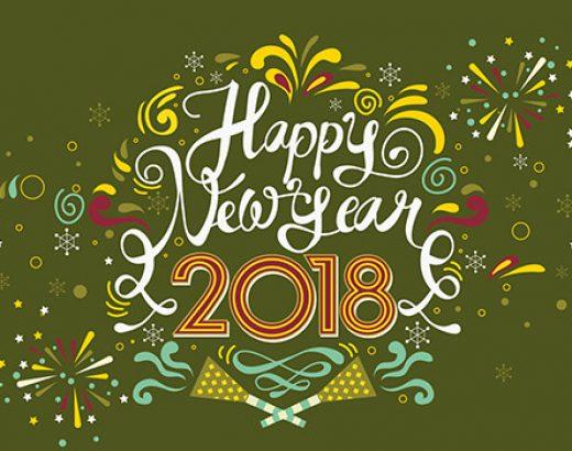 ¡ Feliz 2018 ! – Año nuevo, blog nuevo